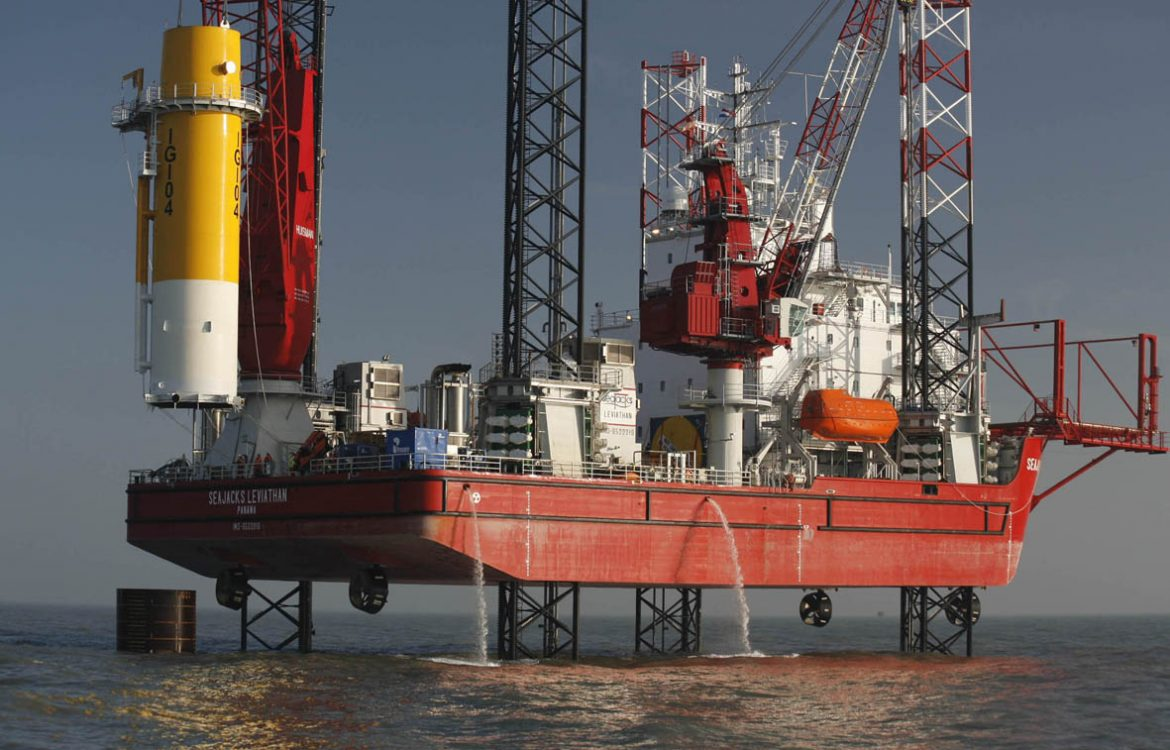 Working in the offshore wind industry