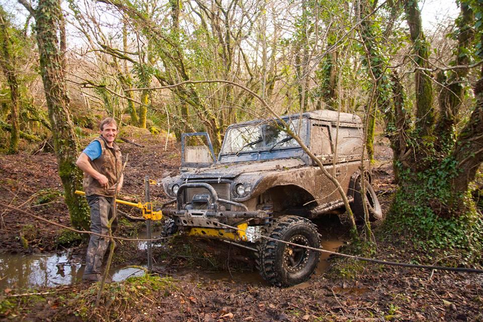 My friend Jason a bit stuck