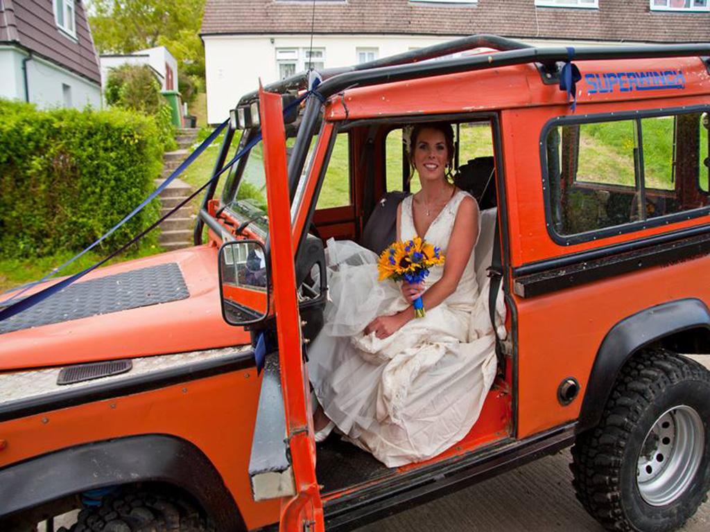 carlys wedding day