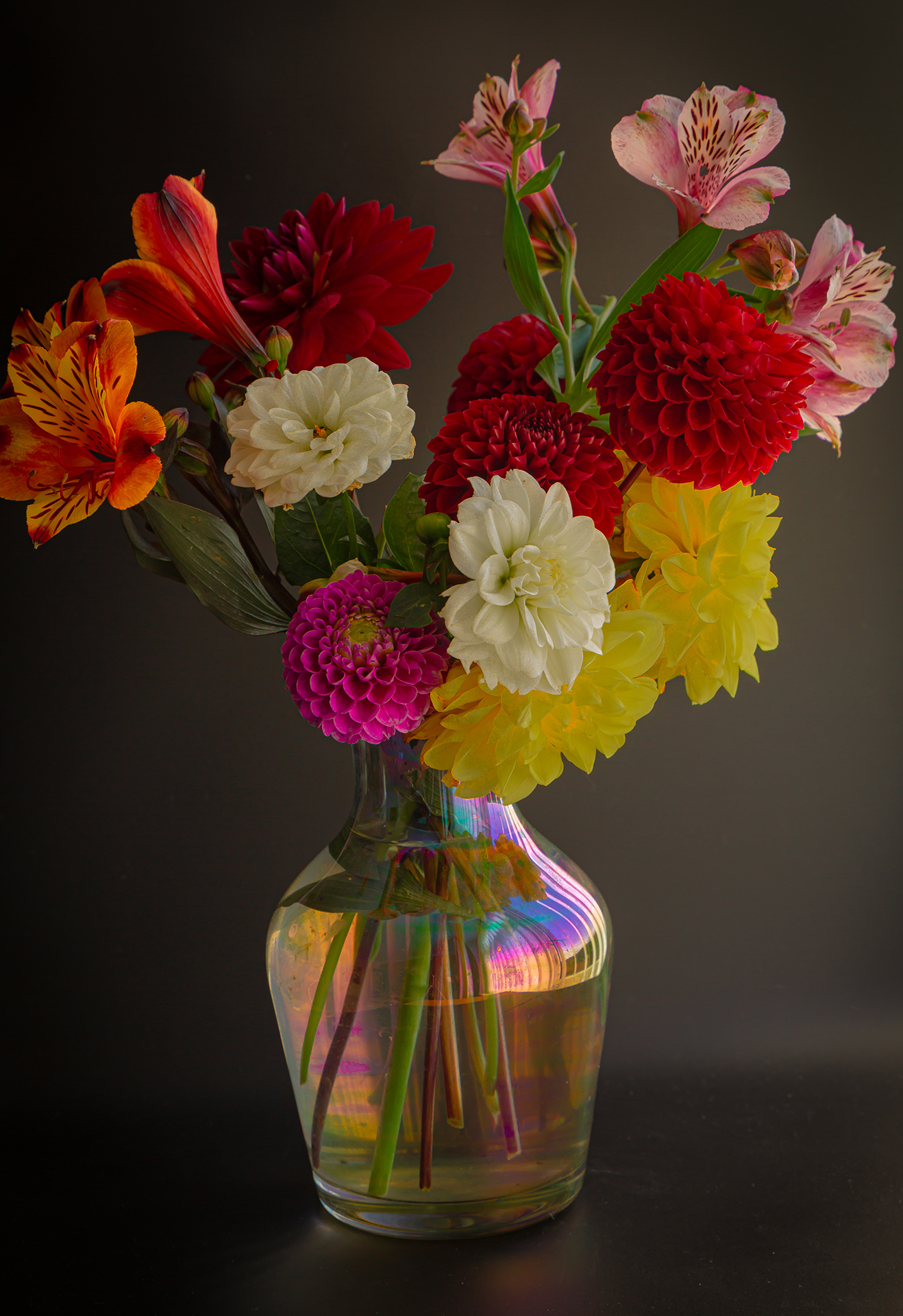 boquet in a vase